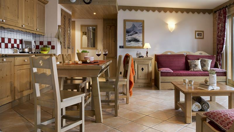 Chalet Belles Pistes - 2 Rooms 4 People