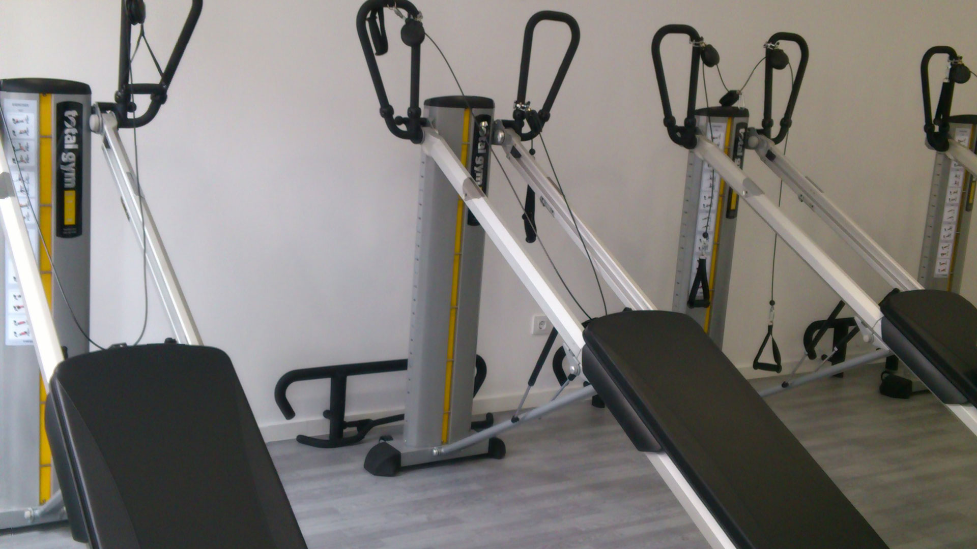 Cardio-training room