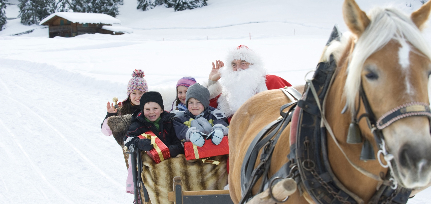 Arrival of Santa Claus - CGH Résidences
