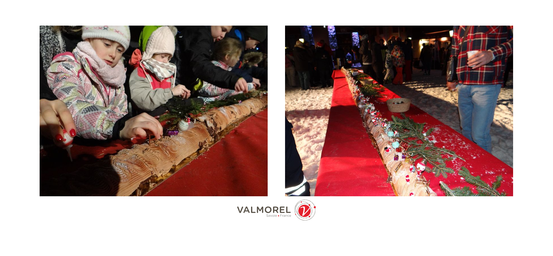 The incredible giant log of a thousand and one Christmas - CGH Résidences