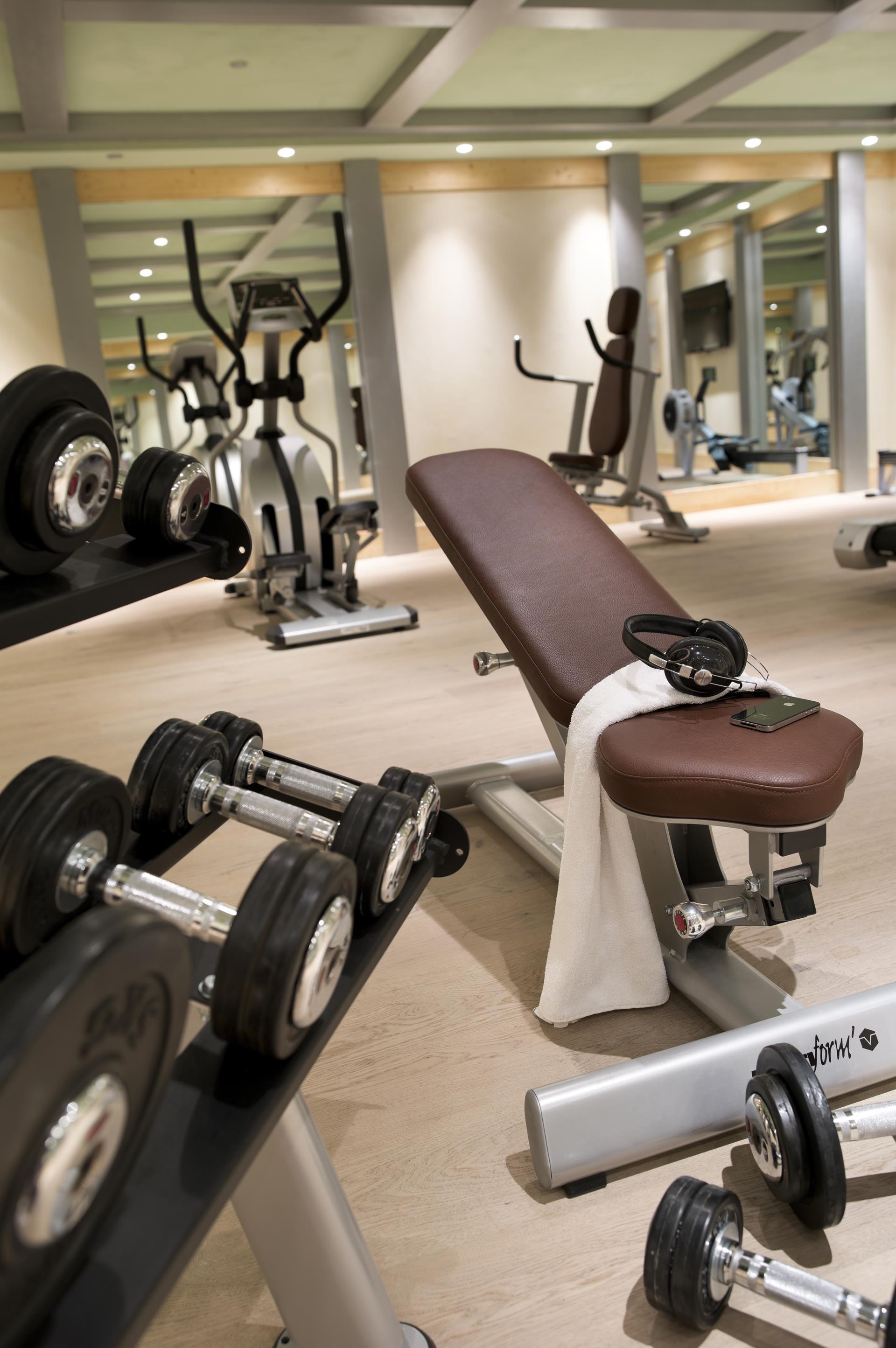 Salle Cardio-training Le Lodge des Neiges - CGH Résidences