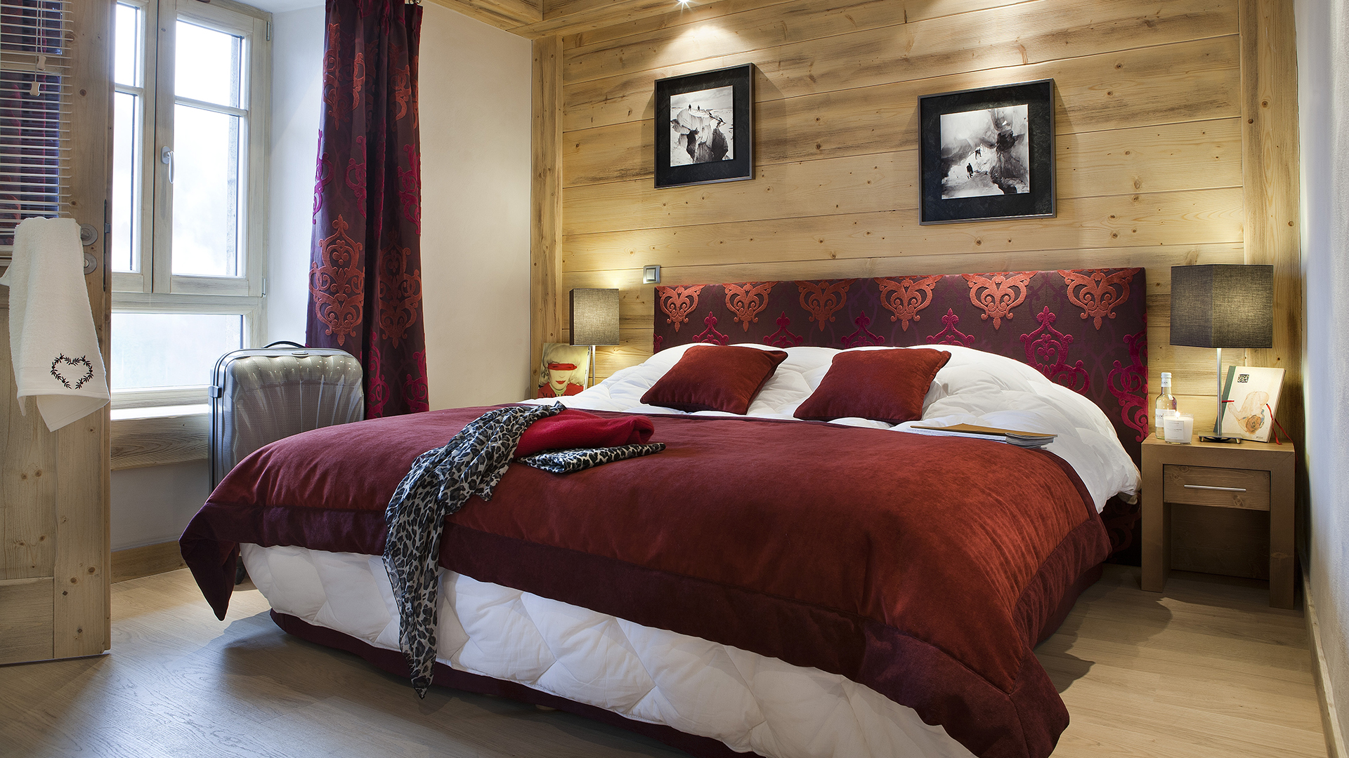les chalets d 39 ang le holiday apartment in ch tel cgh residences. Black Bedroom Furniture Sets. Home Design Ideas