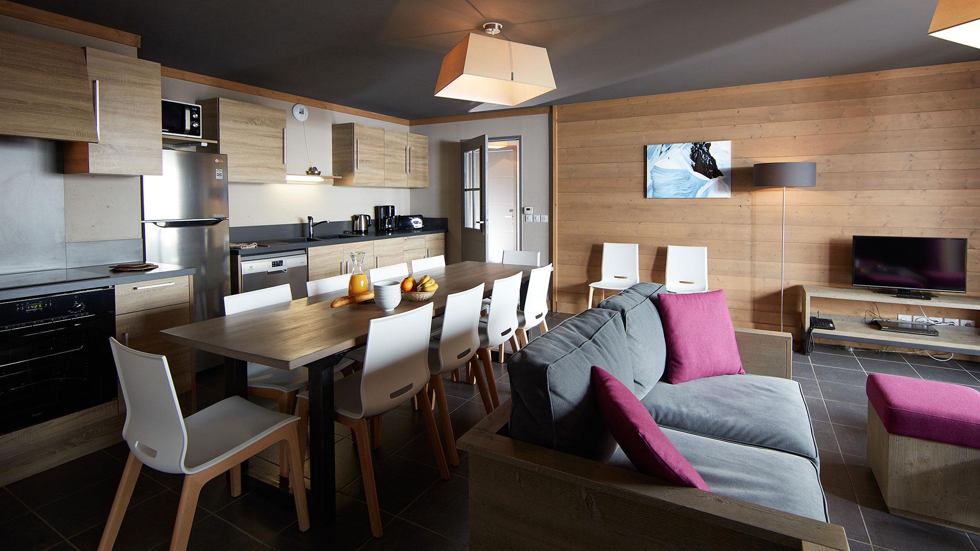 Appartement, Les Chalets du Soleil - CGH Résidences