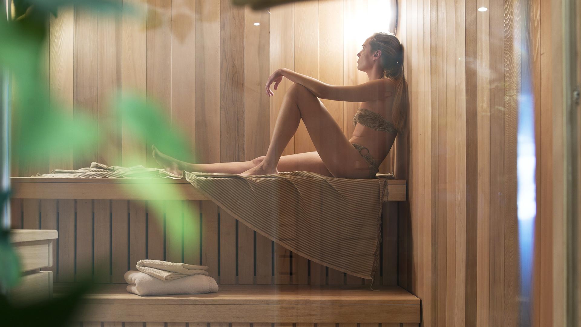 Sauna, Les Chalets de Flambeau - CGH Résidences
