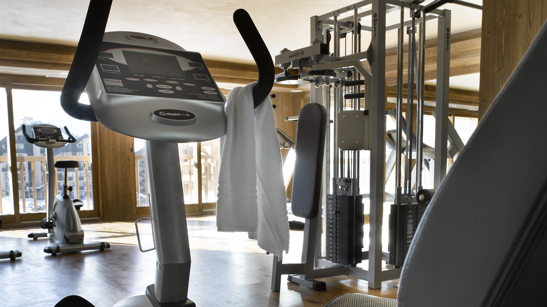 Salle de cardio-training, Les Clarines - CGH Résidences