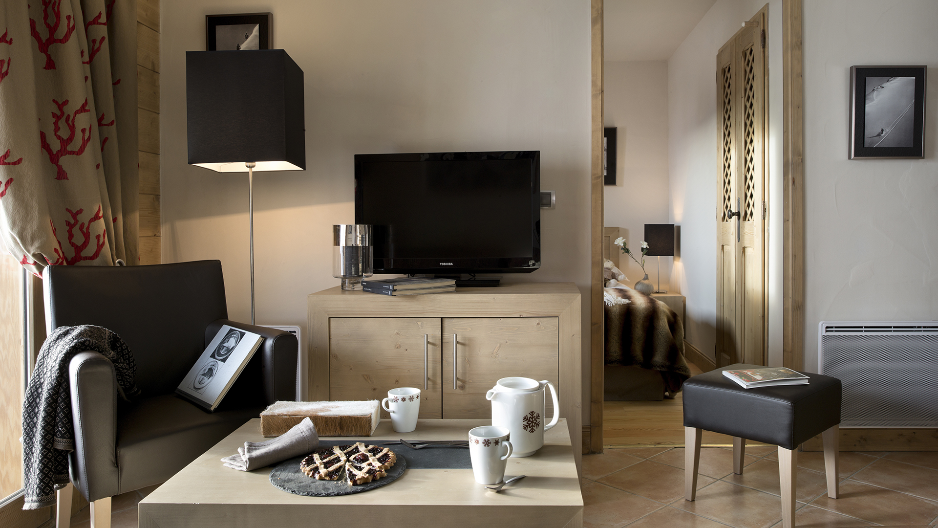 les chalets de l ana holiday apartment in les carroz cgh residences. Black Bedroom Furniture Sets. Home Design Ideas