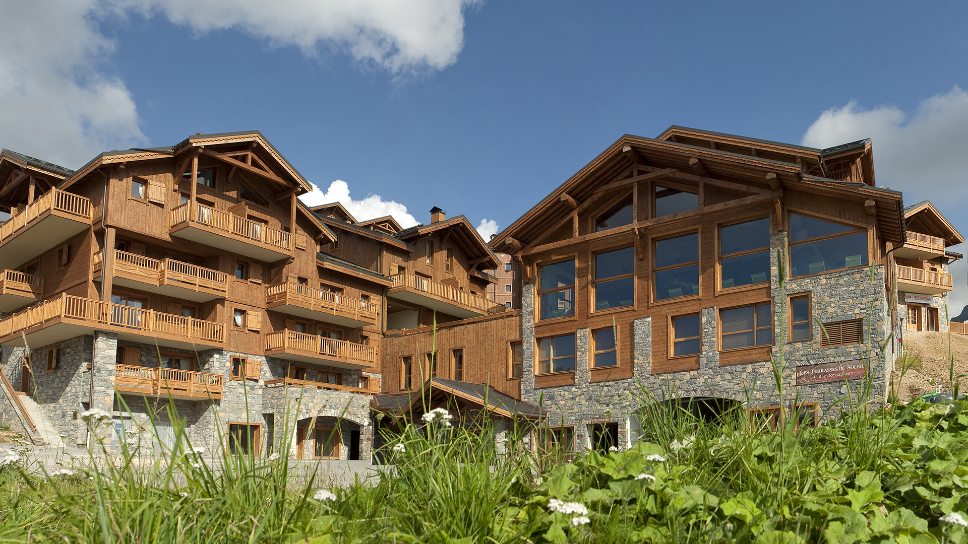 Les granges du soleil holiday apartment in la plagne - Les granges saint martin de belleville ...