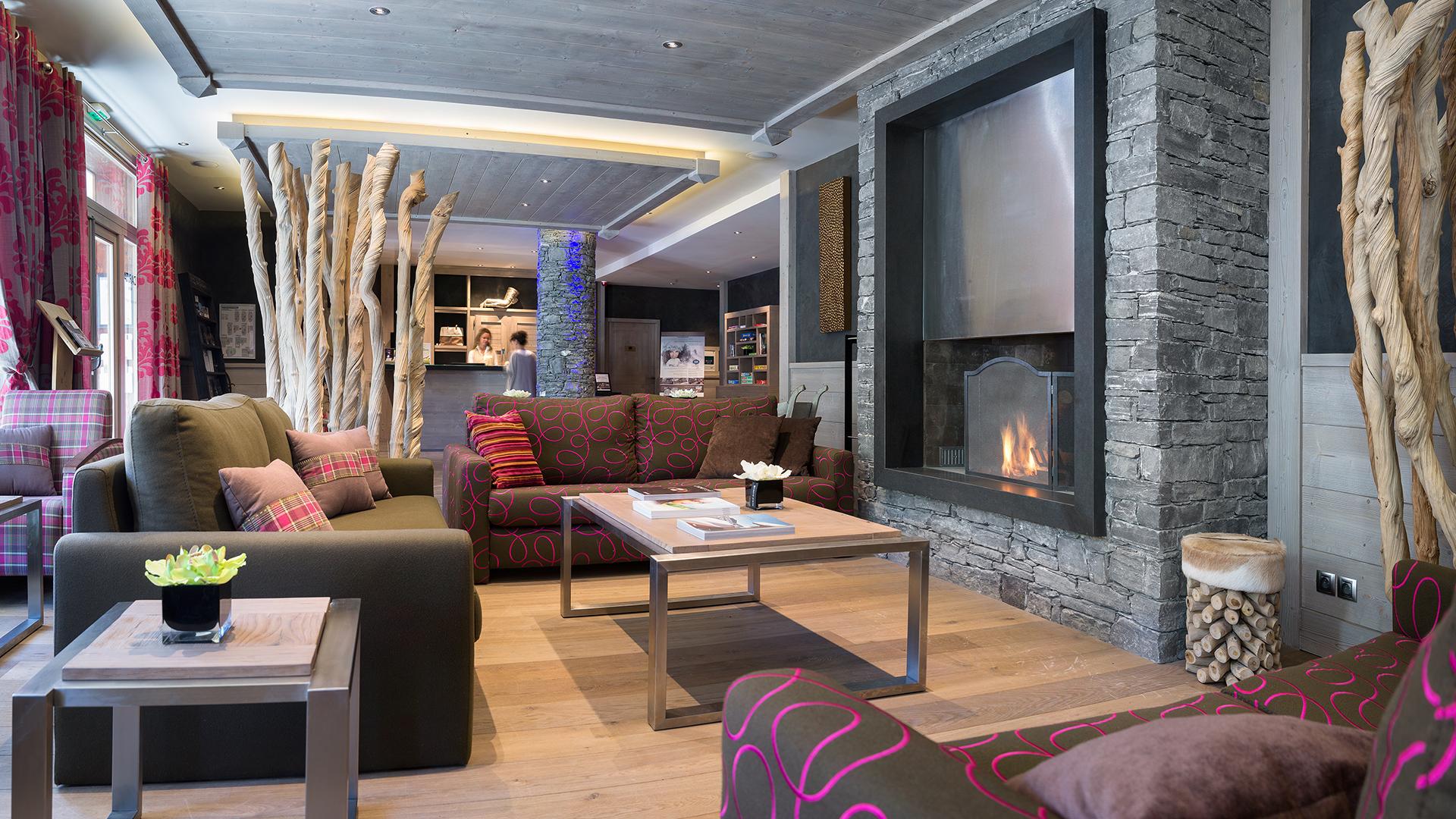 Réception, Le Lodge Hemera - CGH Résidences