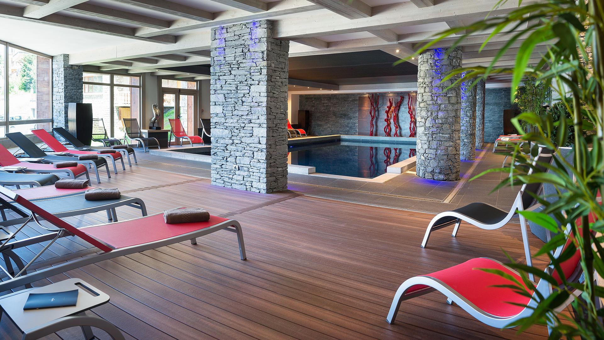 Piscine, Le Lodge Hemera - CGH Résidences