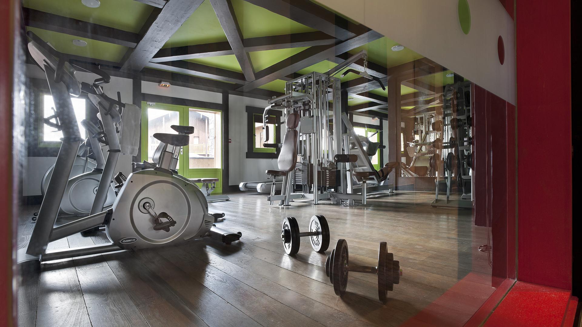 Salle Cardio training, Le Télémark - CGH Résidences