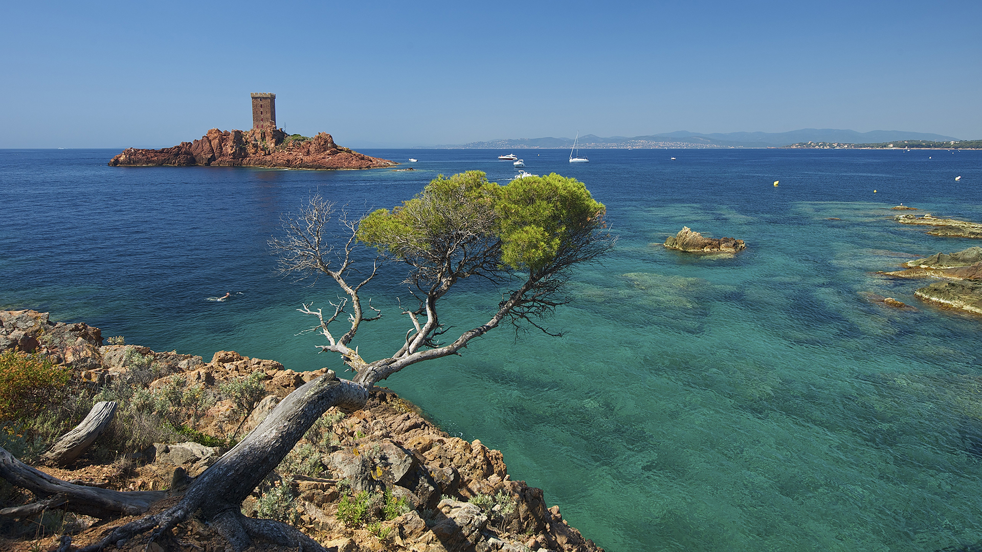 Vacances à la mer, Fréjus, Côte d'Azur - CGH Résidences